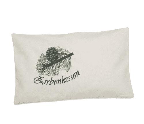 Zirbenkissen Zweig befüllt mit Zirbenspänen - Ovis 30 x 50 cm