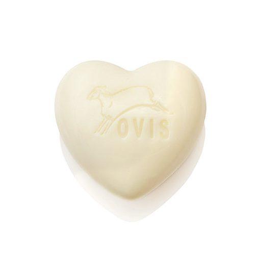 Schafmilchseife Wiesenduft Ovis Herz 75 g - Seife mit Schafmilch