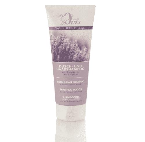 Dusch- u. Haarshampoo mit Lavendel - Ovis 200 ml