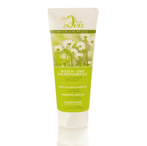 Dusch - u. Haarshampoo mit Schafmilch und Wiesenduft - Ovis 200 ml