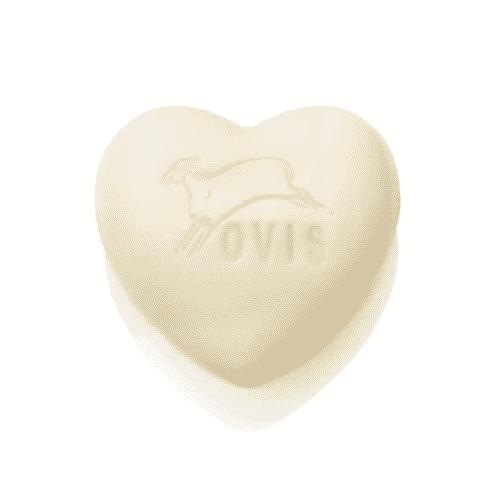 Schafmilchseife Herz mit Wiesenduft - Ovis 75 g