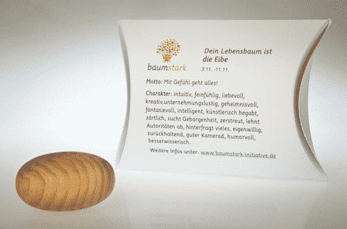 Baumstark Handschmeichler Eibe - 03. November bis 11. November - Rückseite