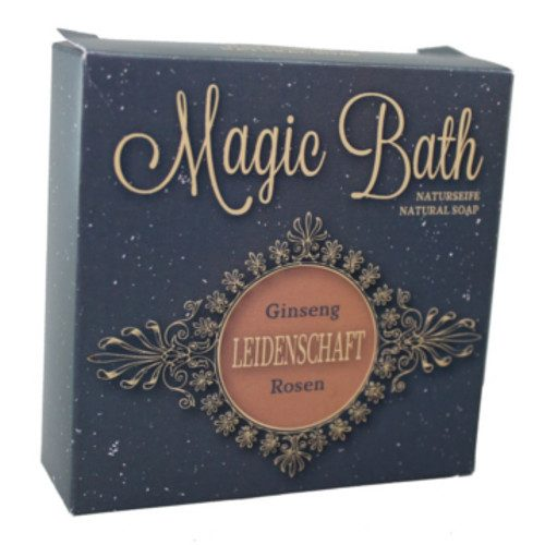 Seife Handgemacht - Leidenschaft - Magic Bath 100 g