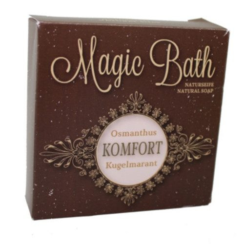 Seife Handgemacht mit Osmanthus und Kugelmarant Magic Bath 100 g