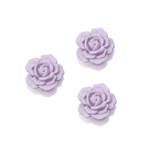 Lavendel Seife in Rosenform mit Schafsmilch 30g
