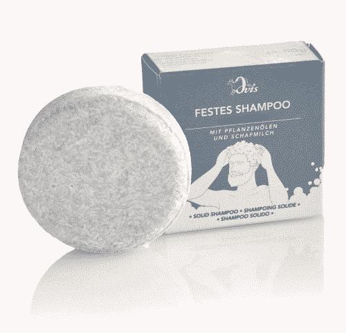 Festes Shampoo For Men - Palmölfrei - Ovis 50 g