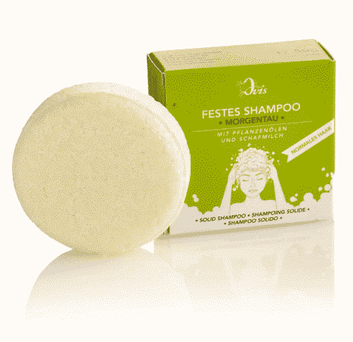 Festes Shampoo Morgentau - Palmölfrei - Ovis 50 g