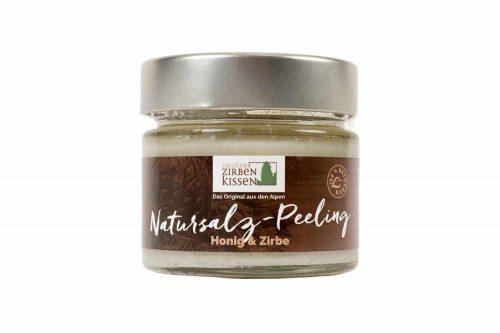 Natursalz Peeling Honig Zirbe - 150 g