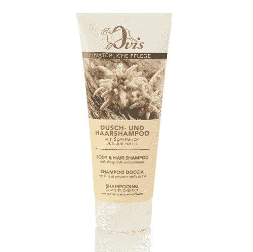 Dusch- u. Haarshampoo Edelweiss mit Schafmilch - Ovis 200 ml