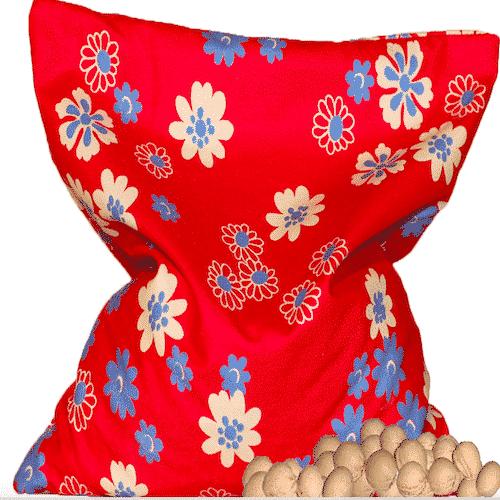 Kirschkernkissen Handgemacht für Kinder - 11 x 11 cm-Bild 3