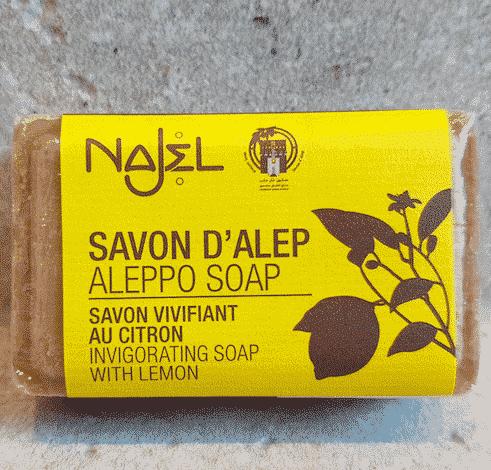 Aleppo Seife mit Zitrone - Najel 100 g