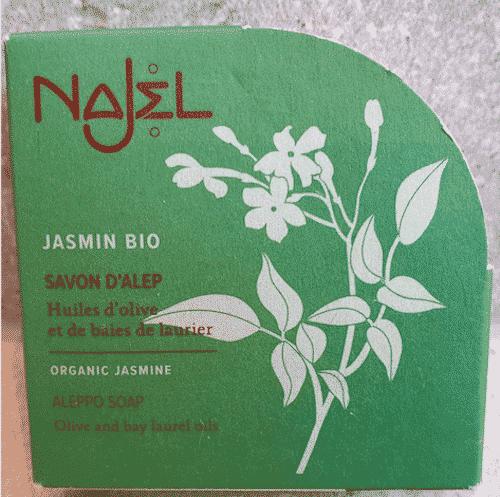 Aleppo Seife Bio Jasmin - Najel 100 g