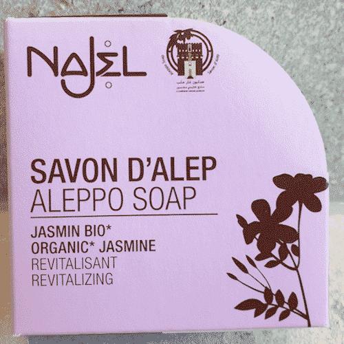 Aleppo Seife Bio Jasmin - Najel 100 g - Bild 2