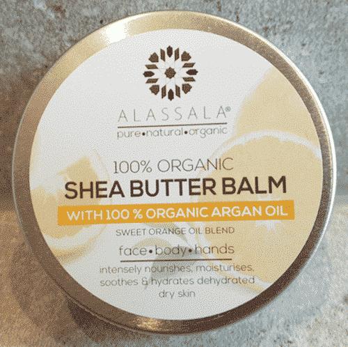 Sheabutter Balsam Bio Argan und Süßorange - Alassala 50 g