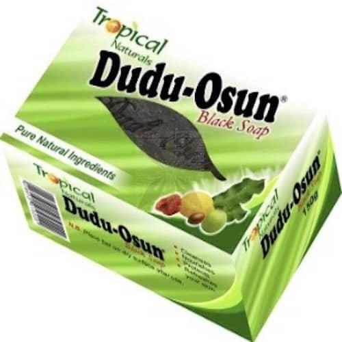Schwarze Seife BIO Handgemacht - Dudu-Osun - 150 g - oben