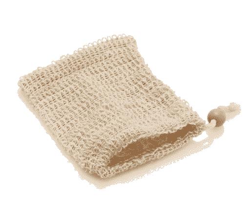Seifenbeutel Ramie - Cotton - Ovis 16 x 13 cm