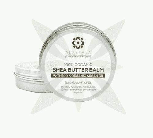 Sheabutter Balsam mit Bio Arganöl - Alassala 50 ml