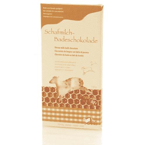 Badezusatz Schafmilch - Badeschokolade Honig - Ovis 110 g