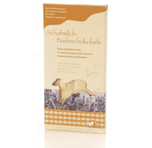 Badezusatz Schafmilch - Badeschokolade Lavendel - Ovis 110 g