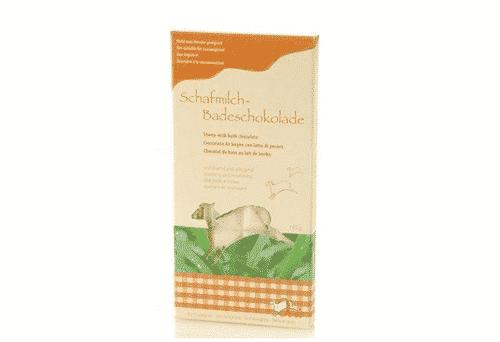 Badezusatz Schafmilch Badeschokolade Lemongrass Ovis 110 g