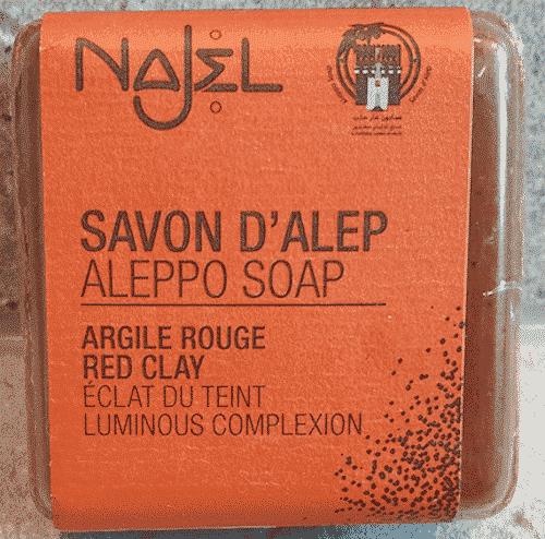Aleppo Seife - Rote Tonerde - Najel 100 g