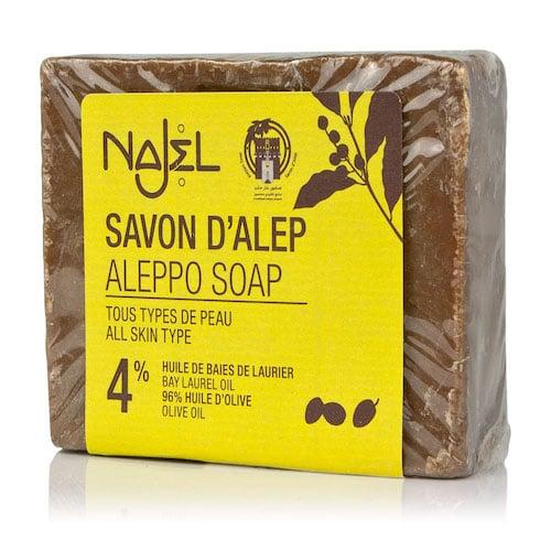 Aleppo Seife mit Oliven - und 4 % Lorbeeröl