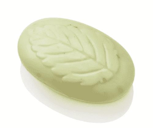 Seife aus Schafmilch - Blatt mit Lindenblüte - Ovis 100 g