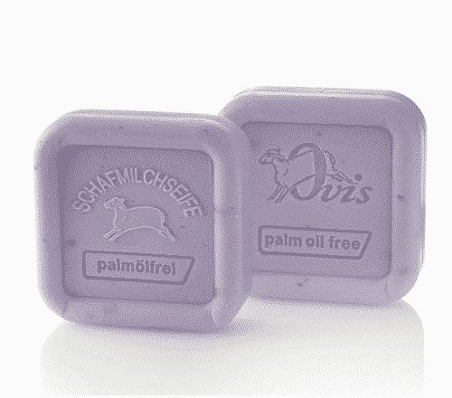 Seife aus Schafmilch - Lavendel ohne Palmöl - Ovis 100 g