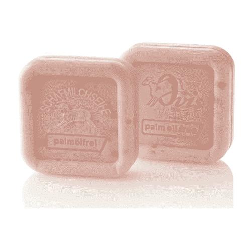 Seife aus Schafmilch - Rose ohne Palmöl - Ovis 100 g