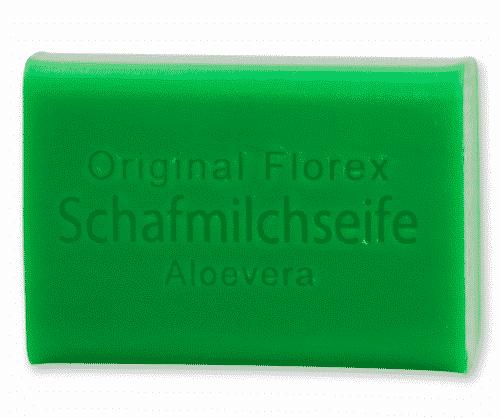 Seife mit bio Schafmilch und Aloe Vera - Florex 100 g