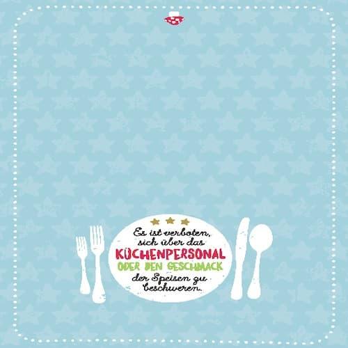 Geschirrtuch - Geschmack Geschenkidee Küche