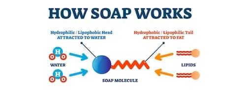 Wie wirkt die Seife