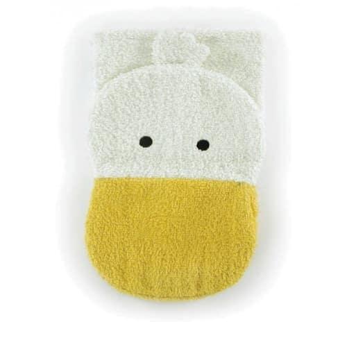 Bio Waschlappen - Ente Waschtuch