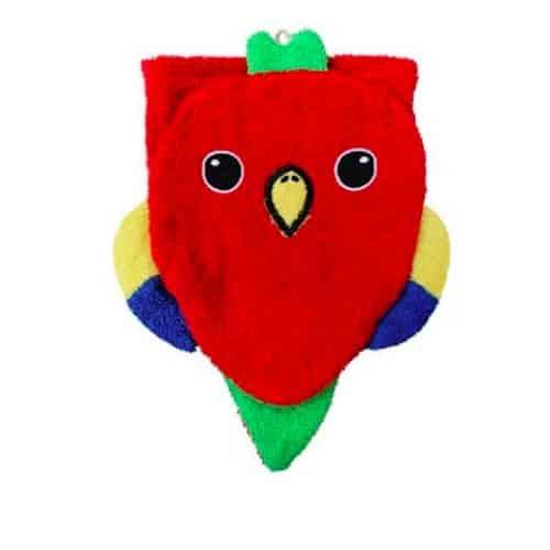 Bio Waschlappen - Papagei Waschlappen