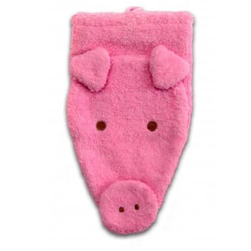 Bio Waschlappen - Schwein - Waschtuch