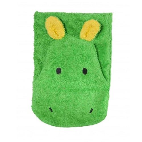 Bio Waschlappen - Nilpferd Waschtuch