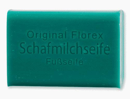 Fußseife mit bio Schafmilch - Florex 100 g