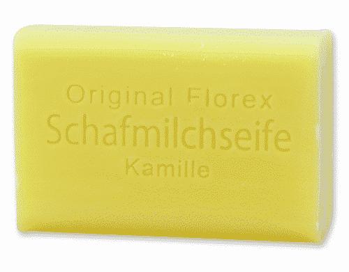 Seife mit bio Schafmilch und Kamille - Florex 100 g