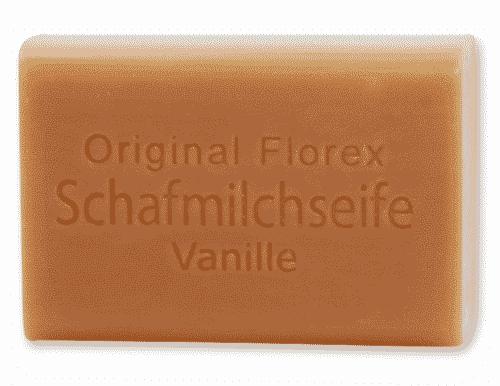 Seife mit bio Schafmilch und Vanille - Florex 100 g