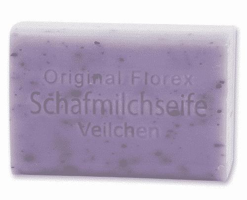 Seife mit bio Schafmilch und Veilchen - Florex 100 g