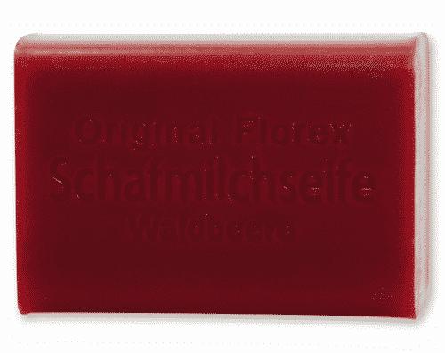 Seife mit bio Schafmilch und Waldbeeren - Florex 100 g