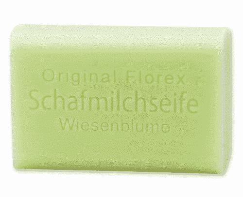 Seife mit bio Schafmilch und Wiesenblume - Florex 100 g