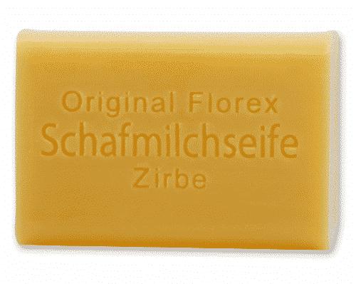 Seife mit bio Schafmilch und Zirbe - Florex 100 g