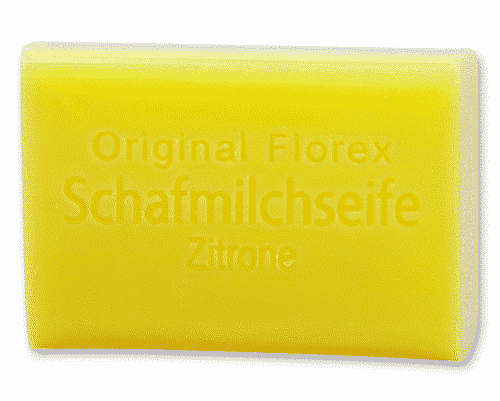 Seife mit bio Schafmilch und Zitrone - Florex 100 g