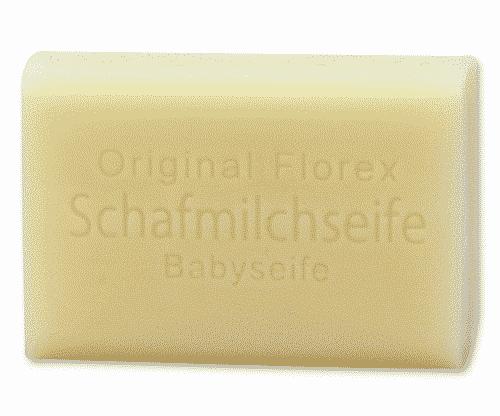 Babyseife mit bio Schafmilch - Florex 100 g