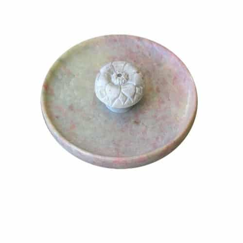 Räucherstäbchenhalter aus Naturstein - Lotusblüte