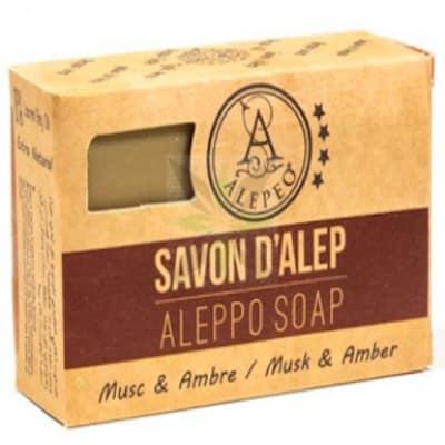 Aleppo Seife - Moschus - Amber - Alepeo 100 g