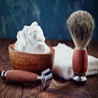 Rasierseife mit Bio Schafmilch für Männer