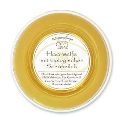 Haarseife mit Bio Schafmilch - Florex 100 g - Ringelblume