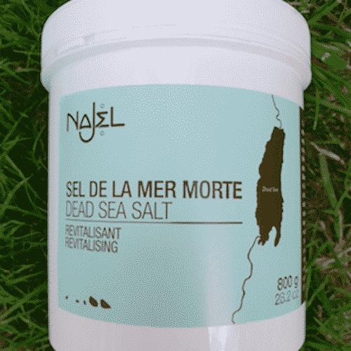 Totes Meer Badesalz - Najel 800 g - Bild 3